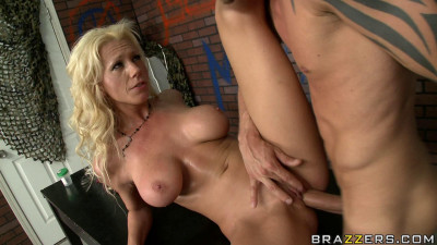 Nothing Can Will Stop The Mission Of A Serious Hot Blonde