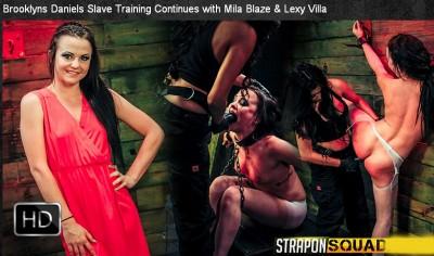 StraponSquad - Mar 10, 2015 - Brooklyns Daniels Slave Training Continues