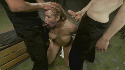 Simone Sonay Whore Stuffed with 2 Huge Cocks