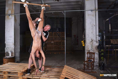 BN - Axel & Sebastian - Giving The Lad A Kinky Training - Piece 2