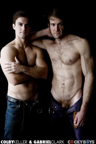 Colby Keller and Gabriel Clark Flip-Fuck! (2013)