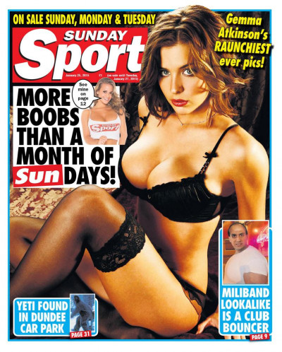 Sunday Sport – 33 Issues