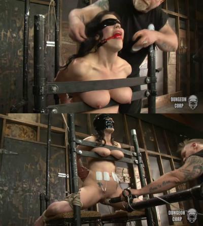 Super bondage, hogtie, strappado and torture for hot girl