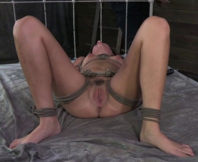 Sexy Mid Western Girl Suffers Category 5 Bondage Fucking And Deep Throating