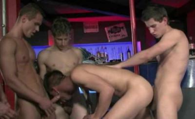 Amazing Bukkake Orgy