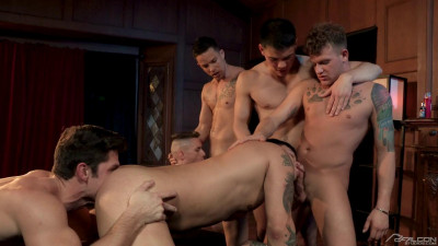 Description The Pledge: Group Sex Bareback