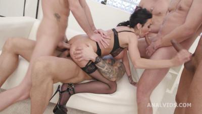 My First TP, Laura Fiorentino 5 On 1 Balls Deep Anal, DAP, Gapes, ButtRose