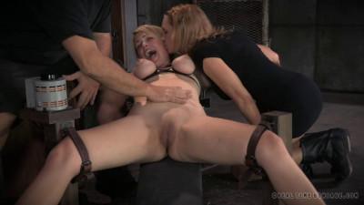 Super bondage, domination and torture for two naked models