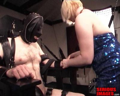 Gumbi And Mistress Alice Bondage Chair Fun Part 1