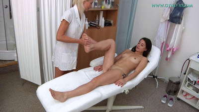 Giorgia Roma (23 years girl gyno exam)