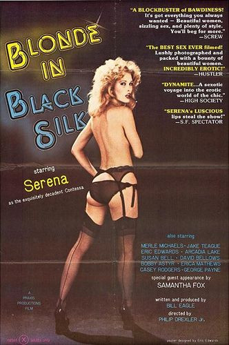 Description Blonde In Black Silk (1979) - Serena, Merle Michaels, Samantha Fox