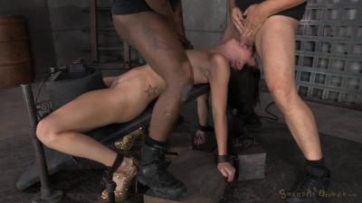 Spunky Marley Blaze gets restrained