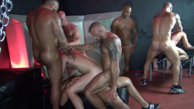 Big Sex Club Orgy - Pt 1 HD-720p