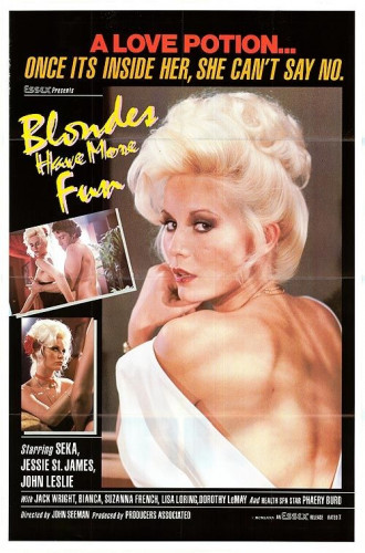 Description Blondes Have More Fun - Seka, Jesie St. James, Amber Rae (1979)