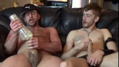 Brad rioux play in leather  – brad rioux & fox rey
