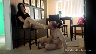 Goddess Harley - Welcoming The New Whipping Boy