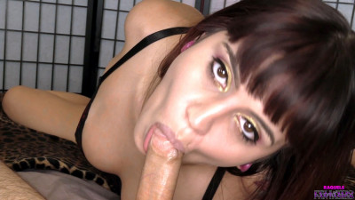 """""""Spitters Are Quitters""""- POV Cum Swallow BlowJob"""