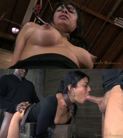 Hard bondage, domination and torture for very sexy latina girl