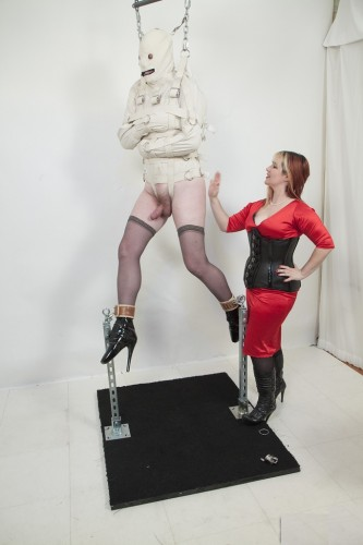 Mistress Alice Strait Jacket Predicament