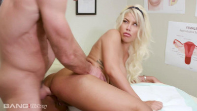 Bridgette B Gets Tricked Into A Prescription Of Dick At The Doctor's Office