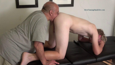 Mark Massaged, Fingered and Jerked