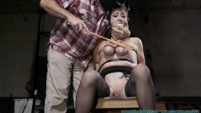 Tit Torture for Riley Jane 1 part - BDSM,Humiliation,Torture HD 720p