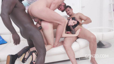 Mary Rose goes straight to anal fucking in her first porn scene