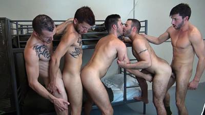 Description Bareback Barracks Sex