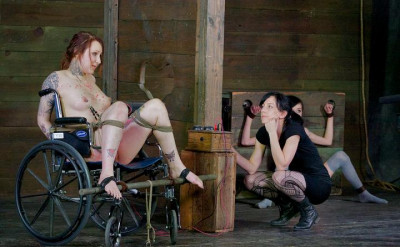 Beautiful slaves in action