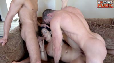 Group Sex — Derek, Buck, Bradley and Dmitry Rachel Ford