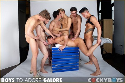 Description Boys To Adore Galore