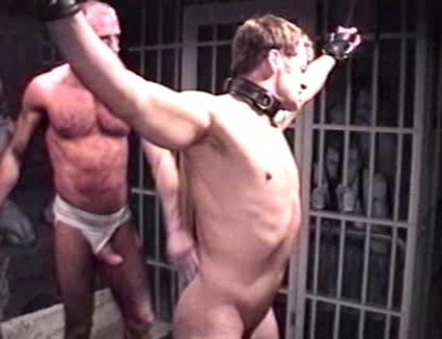 Bondage, ball weights, hard whippings, an inverted dildoing on the Saint Andrews