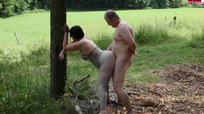 outdoor fuck camp with big ass wife