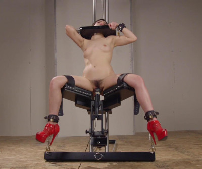 Leather Restraints And Powerful Orgasms