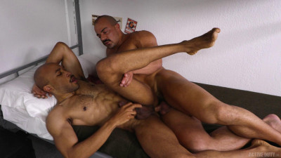 Alex Breaks In New Recruit Dex – Alex James & Dex Wade