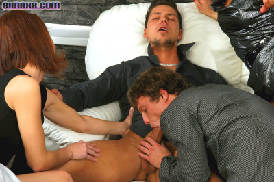 The Sucking As Much Hard Cocks As They Can Get A Hold Of