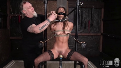 Super bondage, torture and domination for sexy young girl part 1 HD 1080