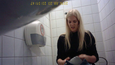 Hidden Camera In The Student Toilet