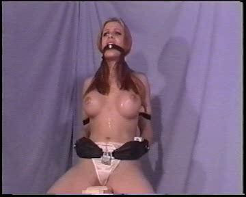 Gagged and Drooling