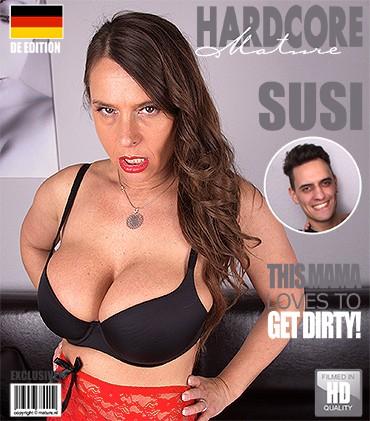 Susi — German big breasted MILF fucking and sucking FullHD 1080p