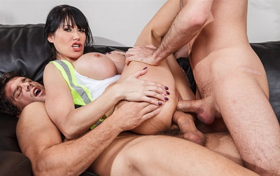 She Requires To Finish The Job Is A Little Double Penetration