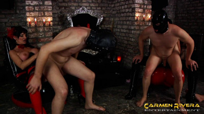 Carmen Rivera And Lady Ginga – 5 Worthles Slaves