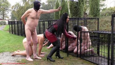 Mistress Ezada Sinn - Brutal Whipping On Cold Rainy Day