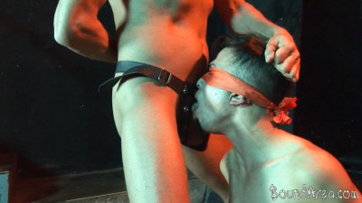 BoundArea — Blindfolded And Roped Boy Lured Into Gay BDSM Play