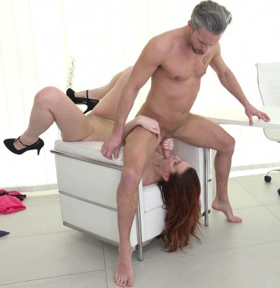 Charli Red – Mind blowing Fuck with Titty Redhead At Casting 1080p