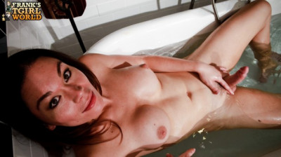 Horny brooke gets wet