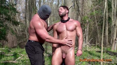 BuffAndBound - Tony Larson - Back Woods Bondage