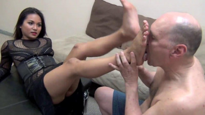 Goddess Lana – Feelings Get My Foot In Your Mouth