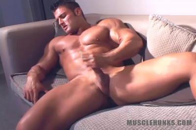 MuscleHunks — Joe Logan — College Muscle Man