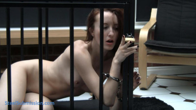 Steel Submission — Cuffed and Caged